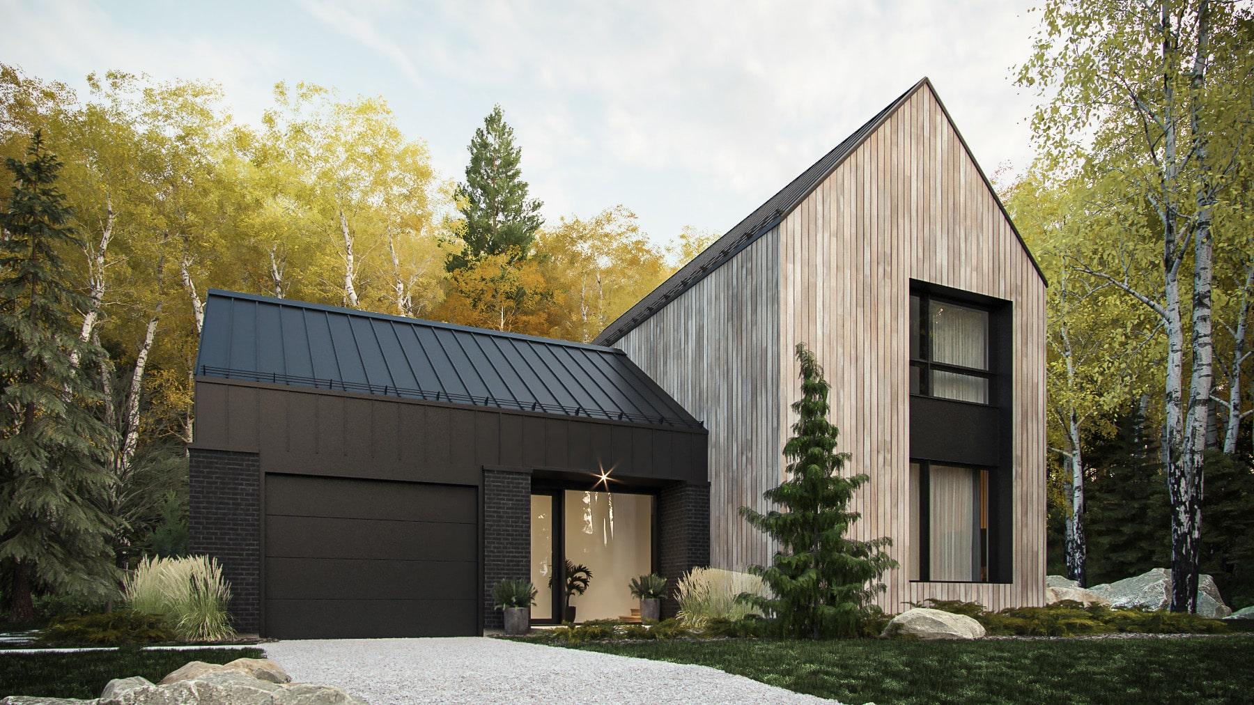 modèle plan de maison nordique