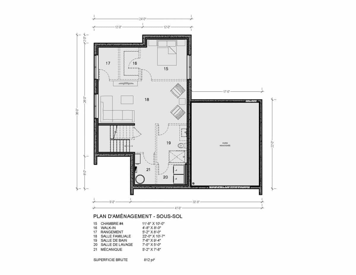 plan de maison Vik
