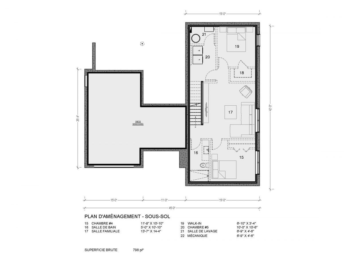 plan de maison nordique bergen