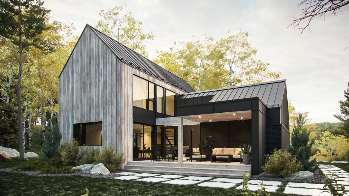 modèle maison scandinave