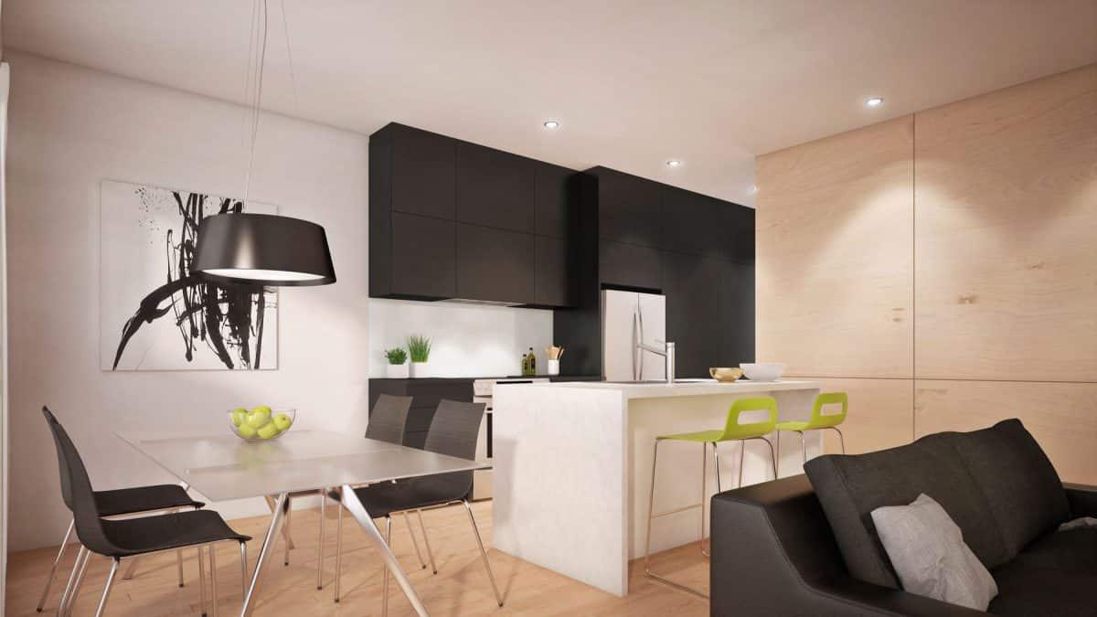 cuisine moderne plan de maison monterey