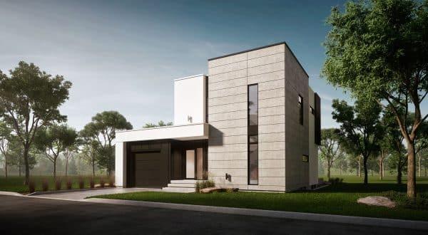 plan de maison moderne maison de ville saratoga
