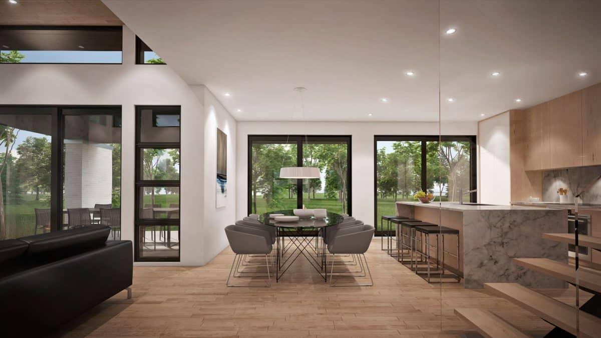 plan de maison farmhouse moderne rockwood