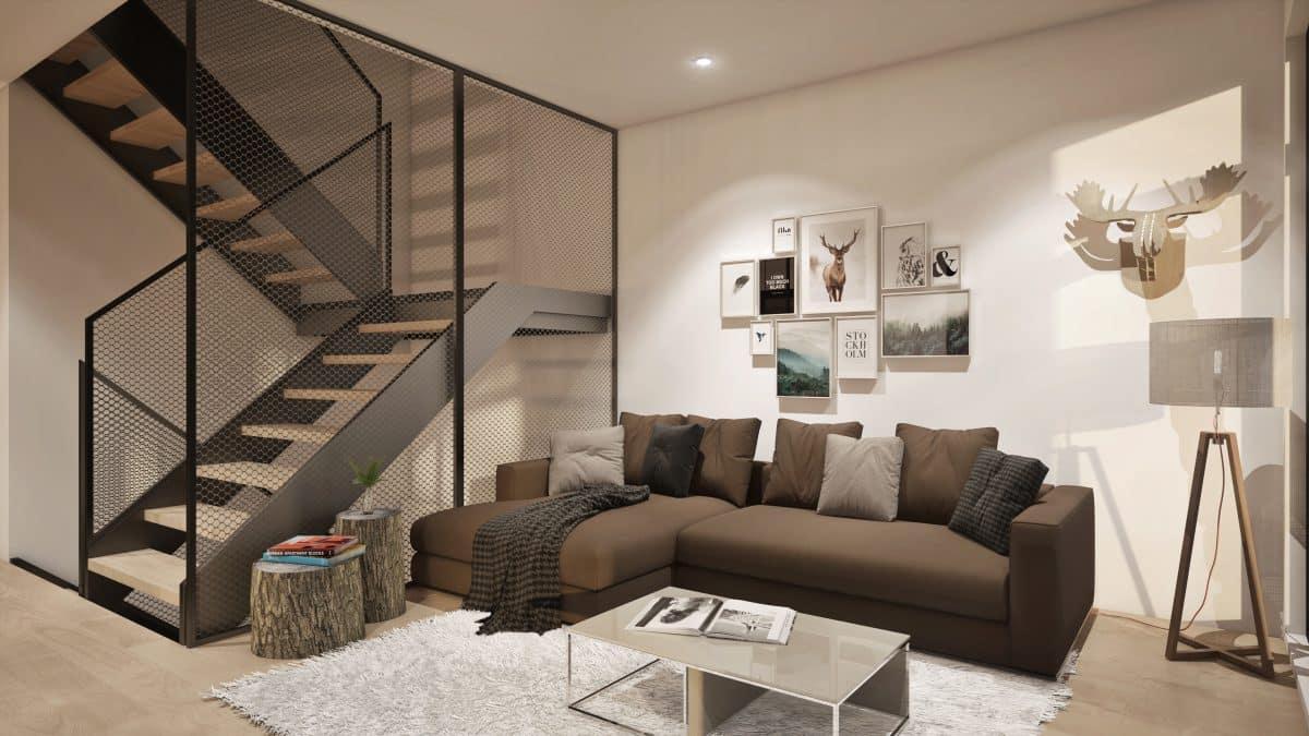salon plan de maison ungava