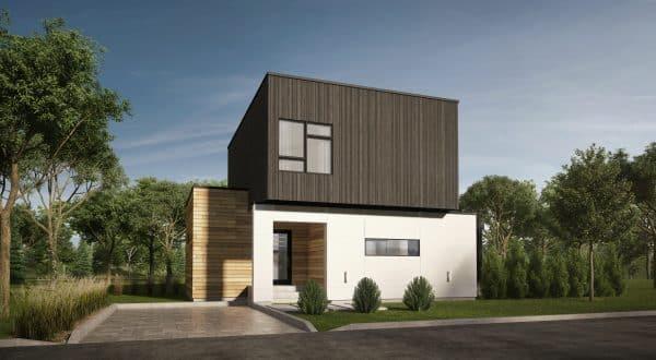 façade maison moderne plan Montara