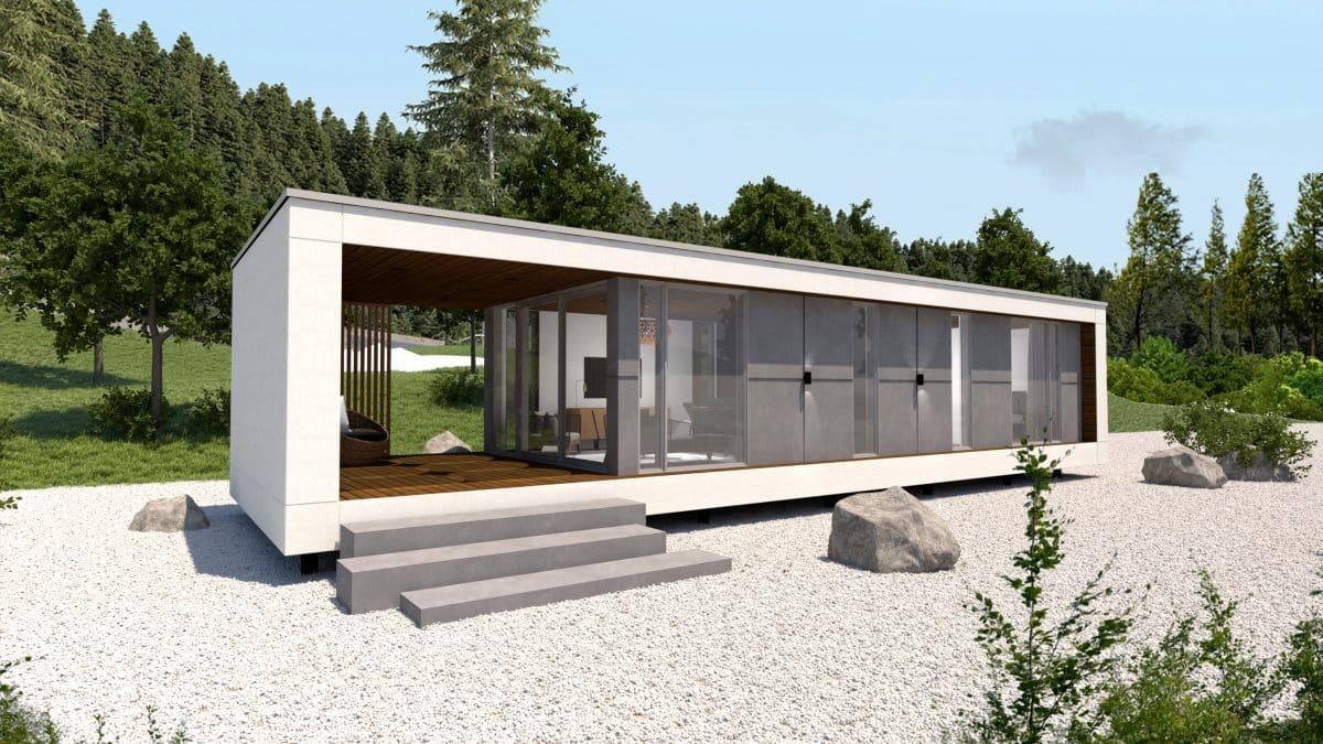 Modèle mini maison container Ness