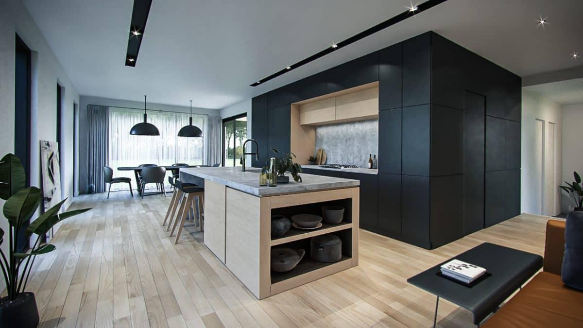 Modèle cuisine design interieur Aseda