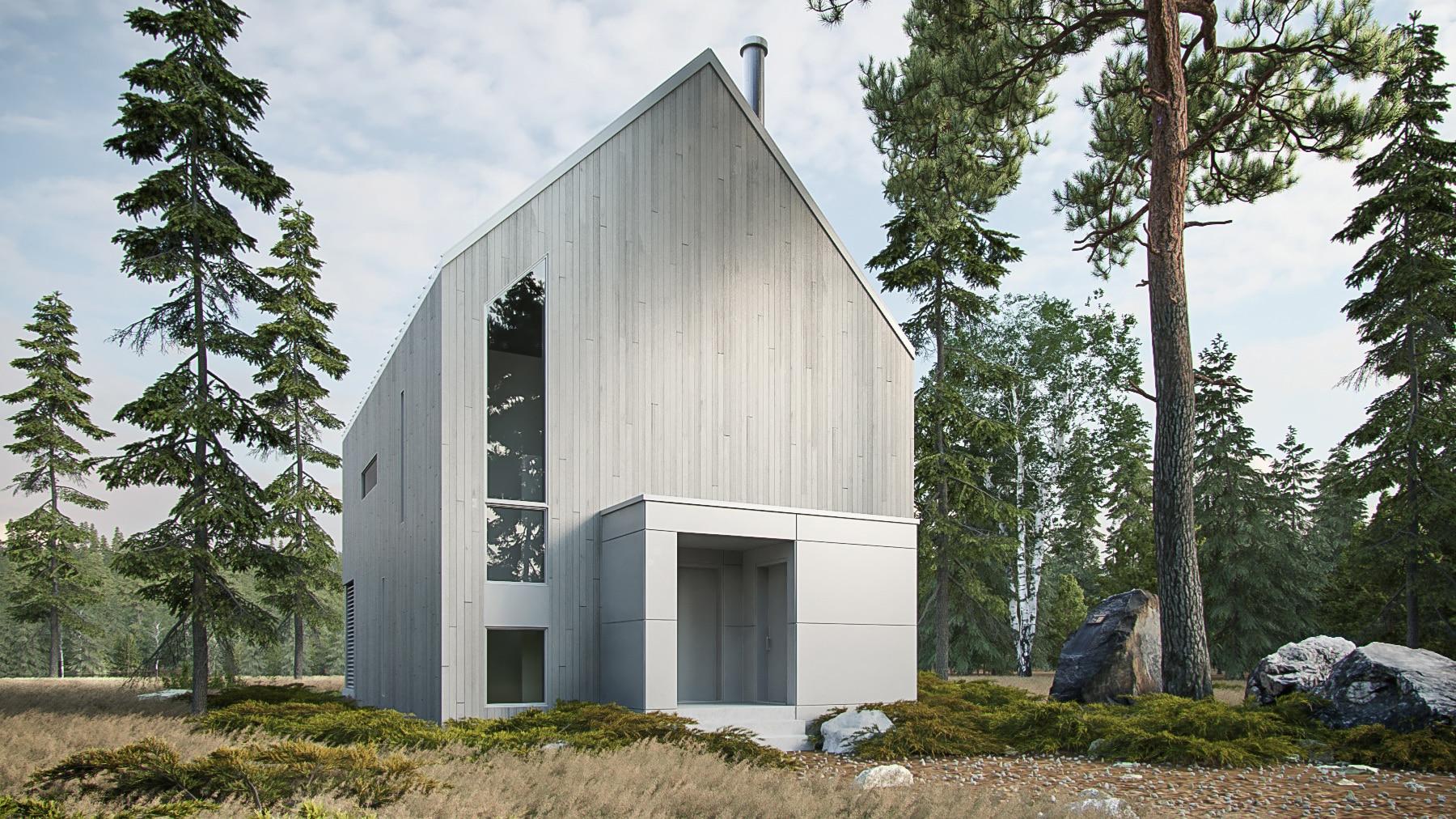 modèle maison nordique Lahti