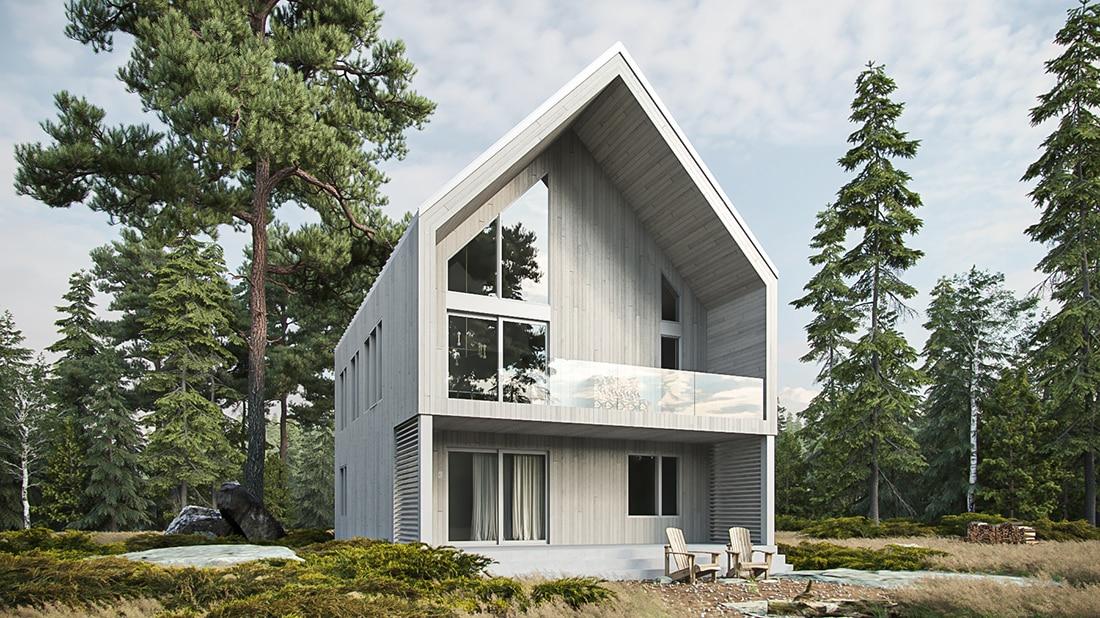 Arrière plan de maison Lahti