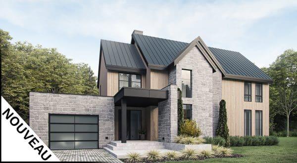 Façade plan de maison Sonoma
