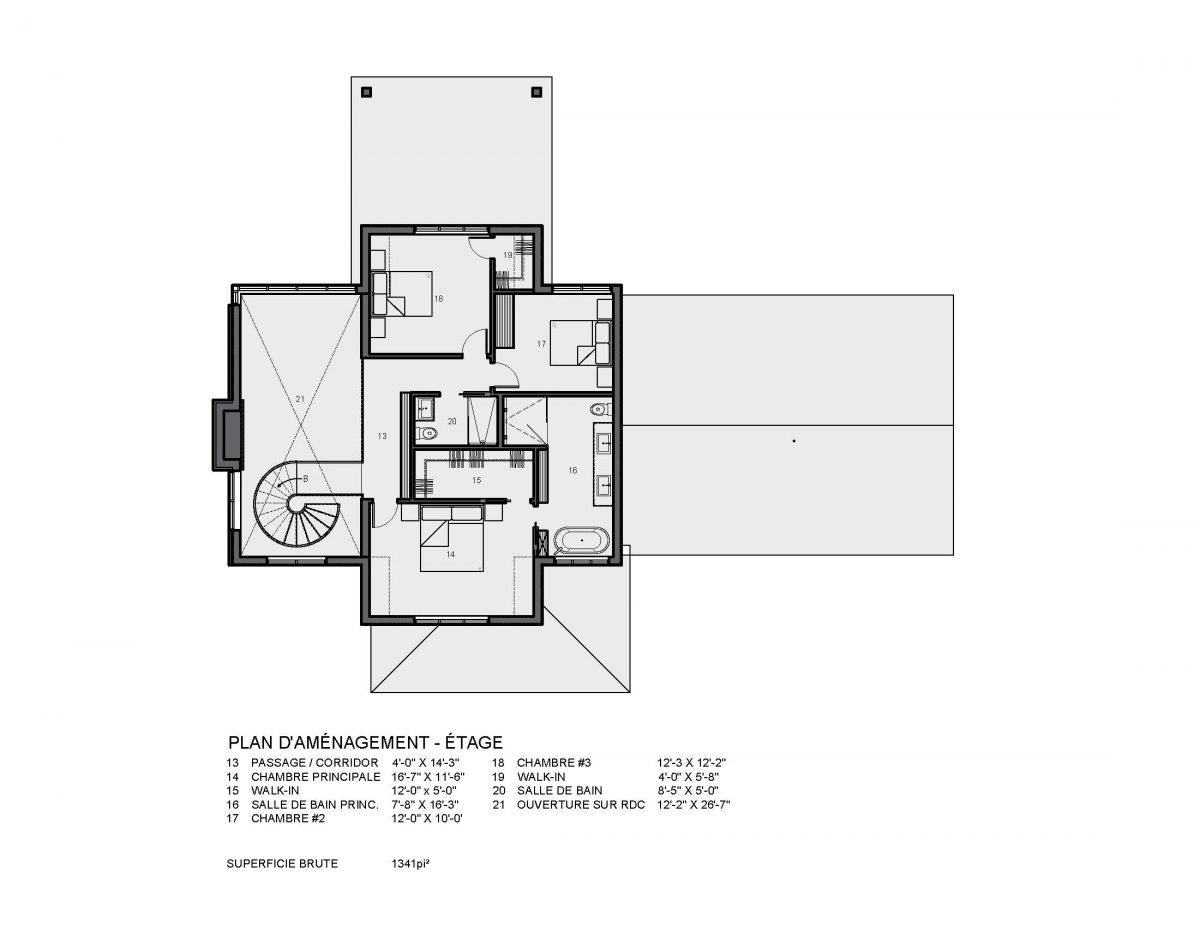 plan maison farmhouse montauk