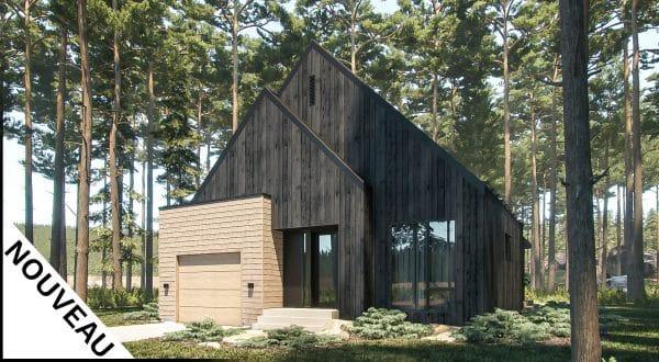 Modèle plan de maison hus