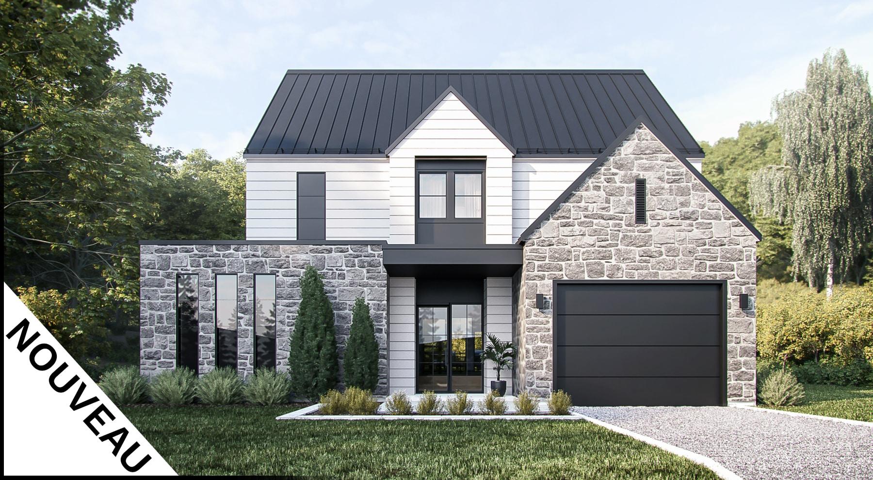 plans de maisons farmhouse